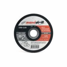 Диск отрезной MaxiDrill 115х1.0х22.2 мм