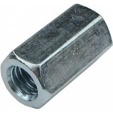 Гайка-удлинитель М10 17х30 цилиндрическая