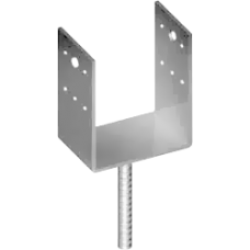 Консоль колонны 50х40 мм тип U для бетона