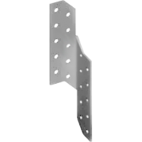 Левая поддерживающая пластина 175х35х2 мм